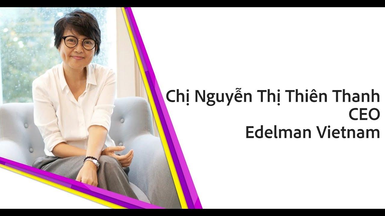 Chị Thiên Thanh CEO Edelman Vietnam [Women in Advertising]