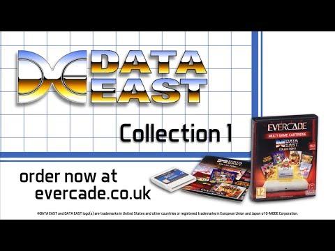 Evercade Data East Collection 1 Cartridge Trailer