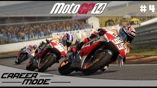MotoGP 14 Gameplay Career Mode Walkthrough - Part 4 Moto 3 American Grand Prix