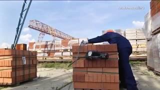 На кирпичном заводе Ревды прошел конкурс среди стропальщиков
