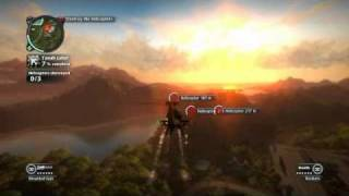 Just Cause 2: Faction Missions: Reapers: Helicopter Hangaround