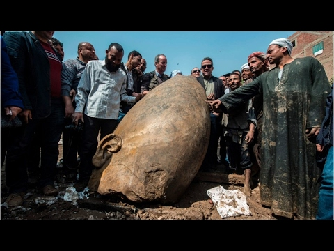 Archaelogists Discover 3,000 Year-Old Statue Buried Beneath City