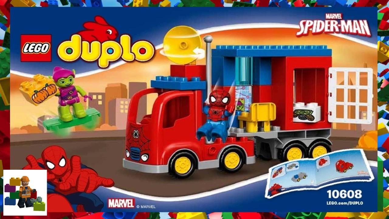 Lego Instructions Duplo Spider Man 10608 Spider Man Spider