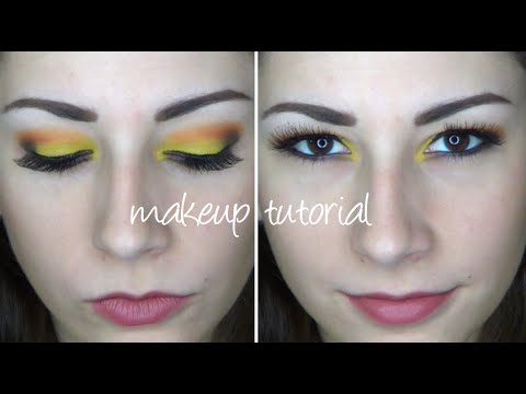 Warm-Tone Makeup Tutorial Using Sleek Makeup Ultra Mattes V1