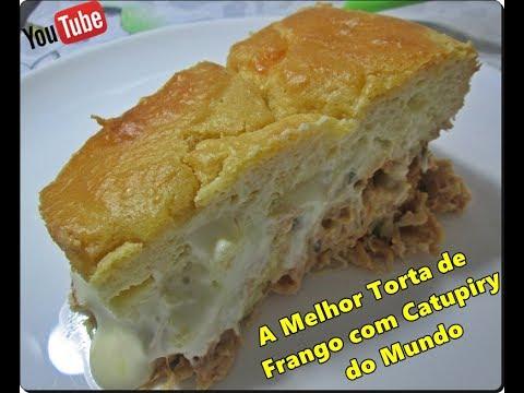 🍗🍴🍛A Melhor Torta de Frango com Catupiry do Mundo com Déby & Ian🍗🍴🍛