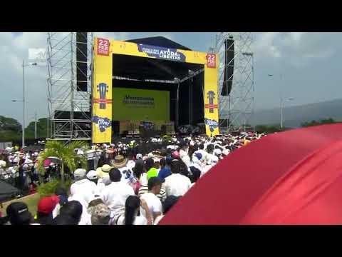 Diego Torrez En Concierto Venezuela Aid Live, Cúcuta Colombia 2019