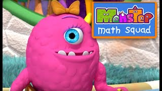Monster Math Squad |  FULL EPISODE  | The Big Stink | Learning Numbers Series