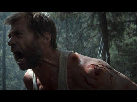 Ярость Берсерка Россомахи. Битва в лесу | Логан (2017)