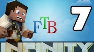 ★ FTB Infinity Modpack | Ep.7 | Electric Furnace | Sawmill