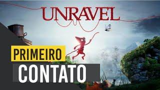 UNRAVEL PS4   Primeiro Contato   Yarny é Pequenino Mais Tem o Coração Enorme!! #Unravel #Ps4