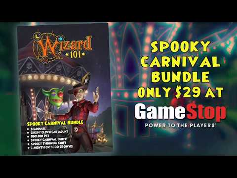 The Spooky Carnival Bundle for Wizard101
