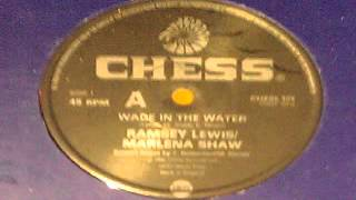 RAMSEY LEWIS featuring MARLENA SHAW   WADE IN THE WATER
