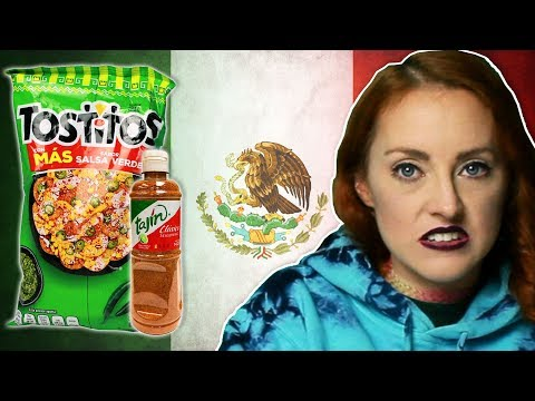 Irish People Try Mexican Snacks