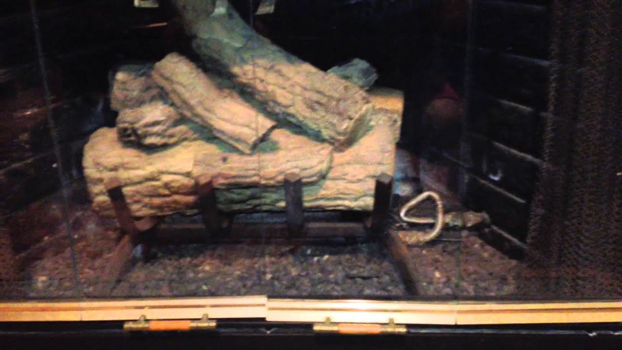 How To Light A Gas Fireplace In Your Home - YouTube