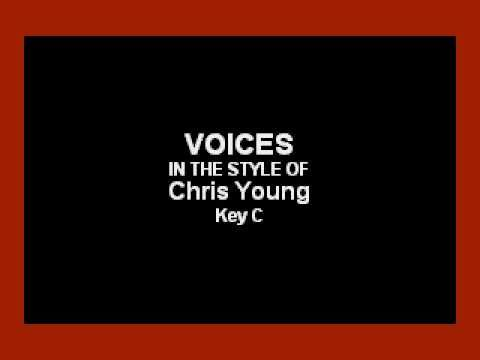 Chris Young - Voices (Karaoke)