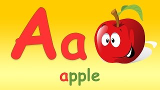 Phonics Song - A For Apple - ABC Alphabet Songs with Sounds for Children