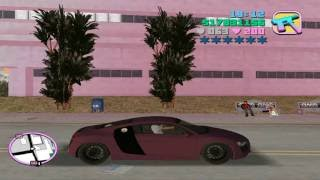 How to get an Audi R8 in GTA Vice City-| Audi R8 Mod in Gta