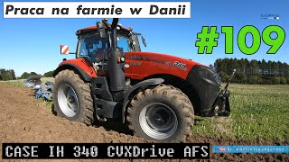 Praca na farmie w Danii #109 | Work on the farm in Denmark #109 | test Case IH 340 CVXDrive AFS