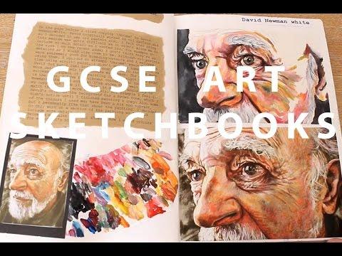 a*-gcse-art-sketchbooks