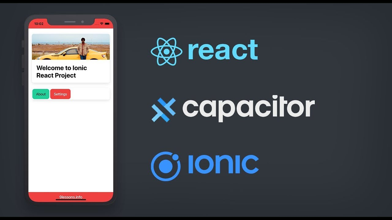 Getting Started with Ionic React and Capacitor