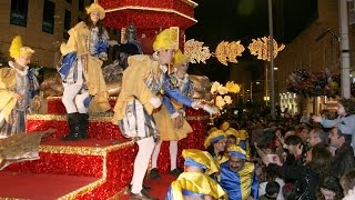 Cavalcade of Magi in Spain, Granada