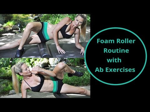 30-Min Foam Roller Workout for Beginners - Plus Abs Exercise