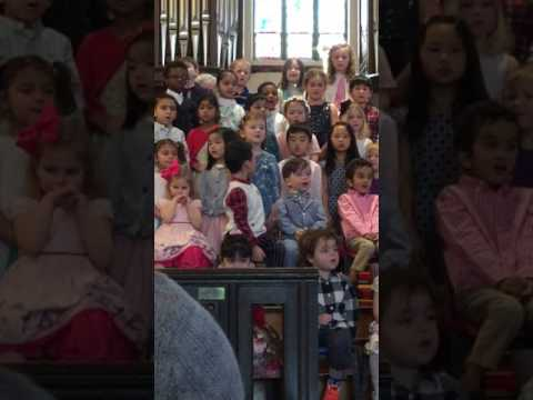 You are you by Kevin Roth Myles Layne & classmates Wellesley Montessori School Spring Celebration