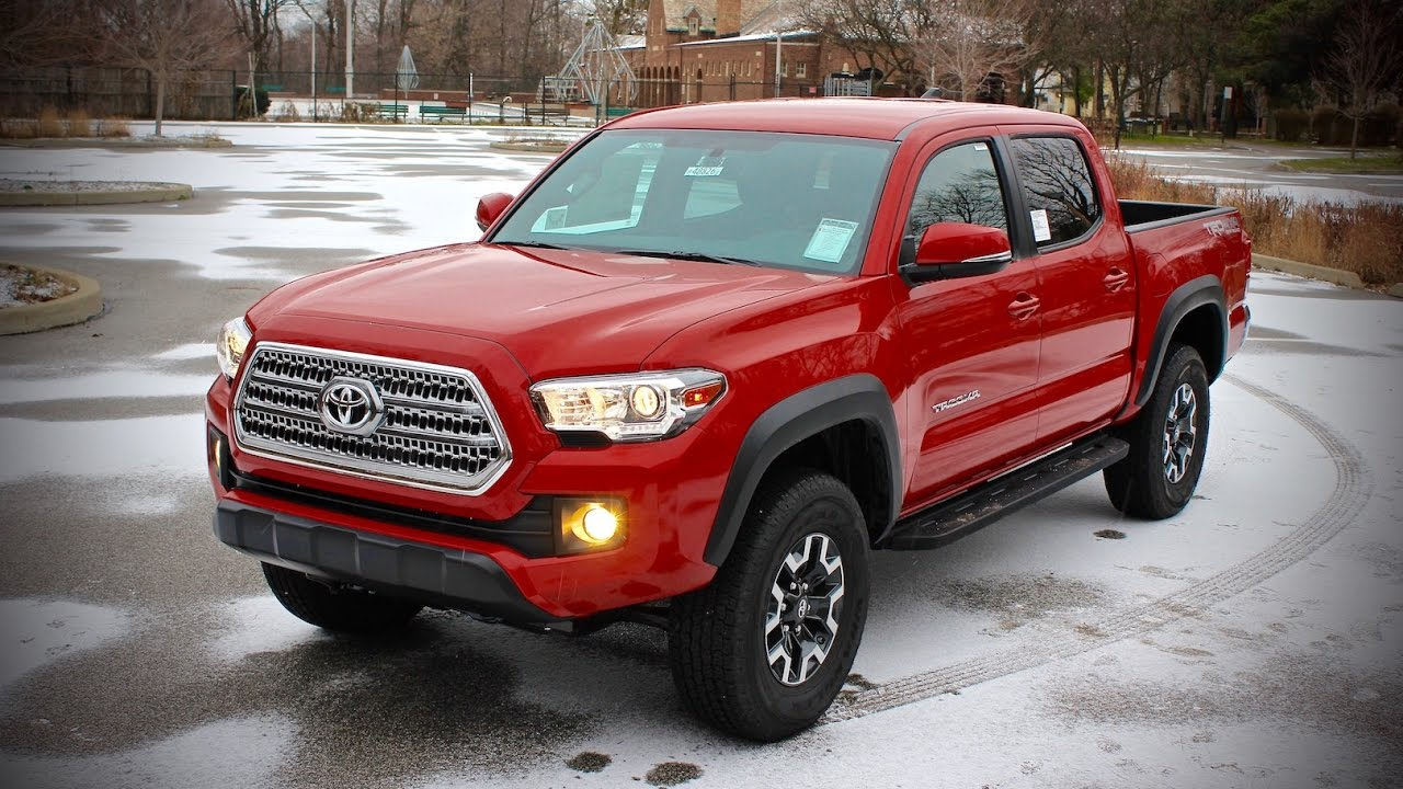 2016 Toyota Tacoma Trd Off Road V6 Full Review Test Drive Motorcars