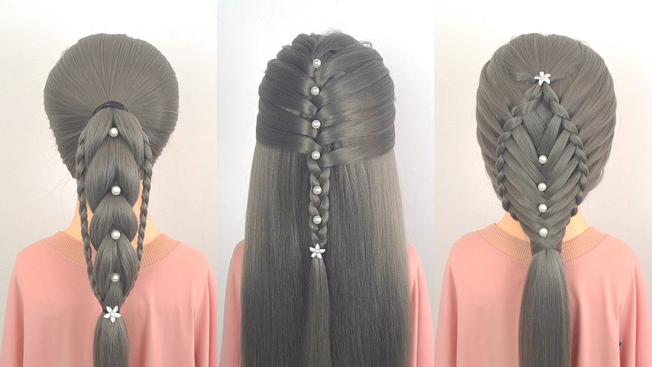 28 Amazing Hair Transformations | Easy Hairstyle Tutorials Compilation | Best Hairstyle For Girls #9