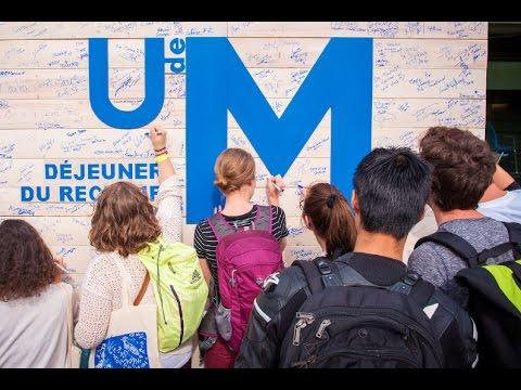 Vox pop : Pourquoi avez-vous choisi l'Université de Montréal ?