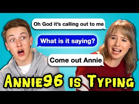 TEENS READ ANNIE96 IS TYPING... | Creepiest Texts Ever (React)
