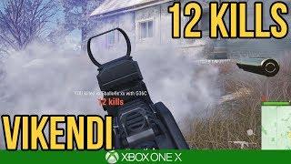 12 KILLS VIKENDI / PUBG Xbox One X