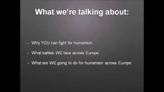 EHYD 2016 – Interactive: humanist campaigning by Stephen Hawkins (AHS)