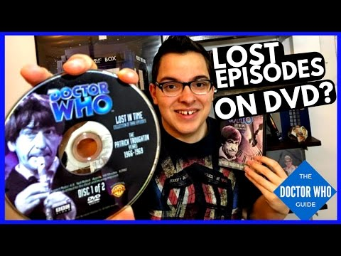 Doctor Who Missing Episodes - 2nd Dr Part 1 - How To Collect The Surviving Eps. on DVD