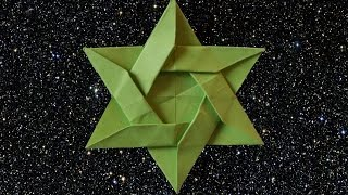 How to make an Origami Star of David (HD)