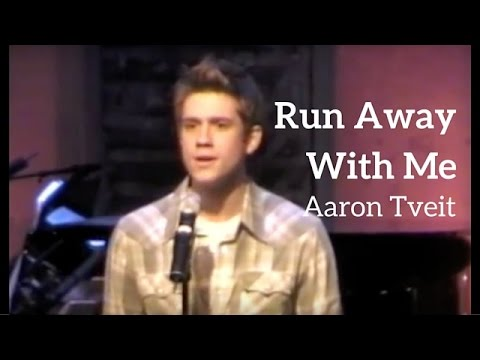 Aaron Tveit Grease Rent Wicked Hairspray Run Away With Me