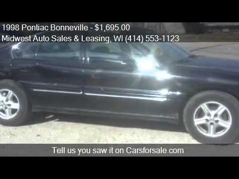 1998 Pontiac Bonneville SLE 4dr Sedan for sale in Milwaukee,