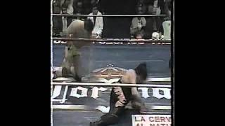 Hector Garza vs Satanico - World Middleweight title - Pt. 2