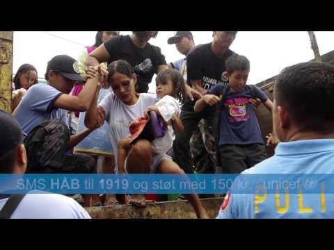 UNICEF kampagnefilm - Filippinerne nov. 2013