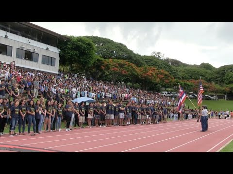 2015 Punahou School Convocation Ceremony (August 27, 2015)