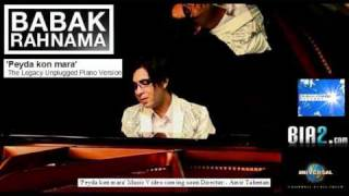 BABAK RAHNAMA 'Peyda kon mara' Music video coming soon, Directed by Amir Taherian