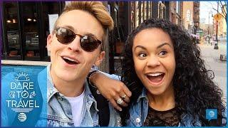Damon and Jo Splurge in New York City   Dare To Travel Episode 8