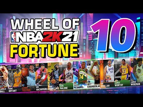 Wheel of NBA 2K Fortune 10