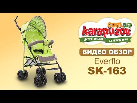 Видео-обзор детской коляски трости Everflo sk-163 (еверфло ск-163)