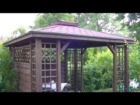 Gazebo Pergola Construction DIY Installation How to