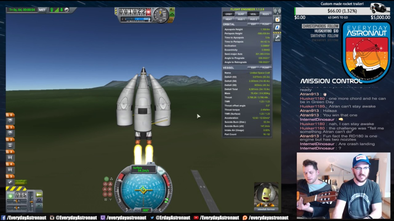 Reddit KSP Challenge - One Engine To Rule Them All (January 2017)