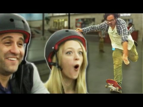 Thumbnail: Non-Skaters Vs. Pro Skaters