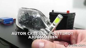 LED-polttimot auton ajovaloihin