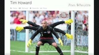 Hail to the goalie, Tim Howard