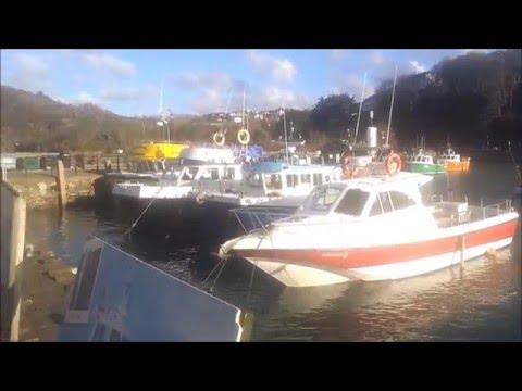 Ilfracombe Harbour, North Devon, UK, April 2016